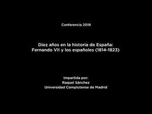 Diez años en la historia de España: Fernando VII y los españoles (1814-1823) (LSE)