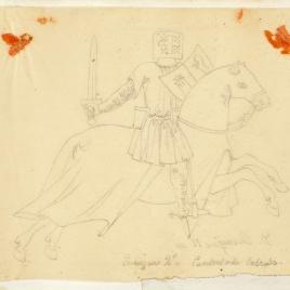 Enrique II de Castilla a caballo