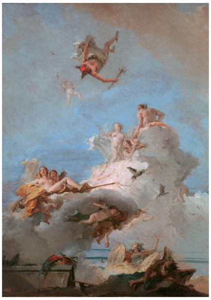 El Olimpo O Triunfo De Venus Colecci 243 N Museo Nacional