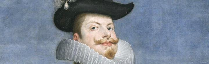 Diego Rodríguez de Silva y Velázquez. Felipe III y La reina Margarita de Austria, a caballo