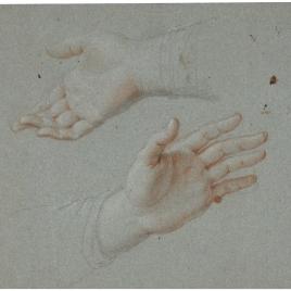 Estudio de dos manos