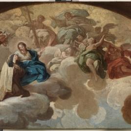 Santa Teresa de Jesús en la Gloria