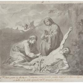 San Sebastián curado por Santa Irene