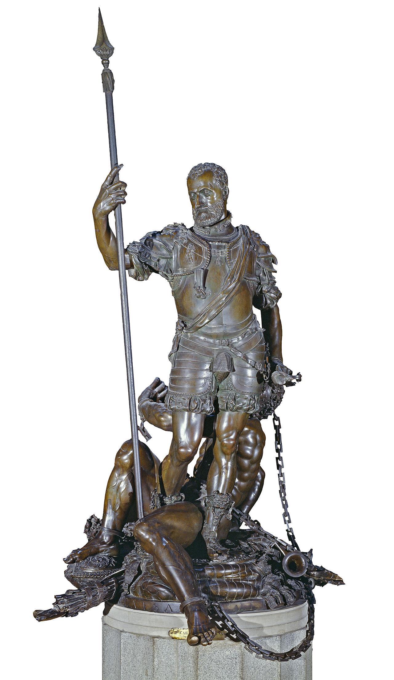 Emperador Carlos V y el Furor, El [Leone y Pompeo Leoni]