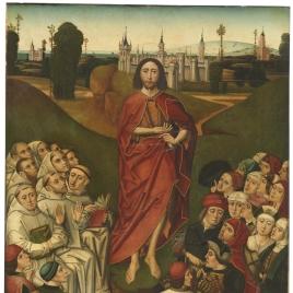 La predicación de San Juan Bautista