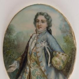 El conde de Provenza, futuro Luis XVIII de Francia