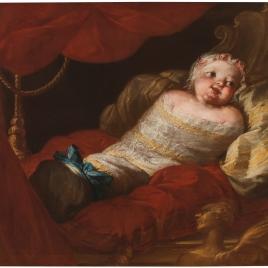 La infanta Isabel de Borbón y Sajonia, princesa de Nápoles