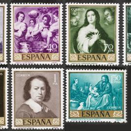 Serie de sellos Murillo