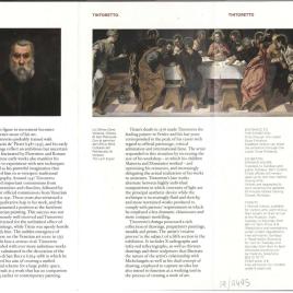 Tintoretto / Museo Nacional del Prado.