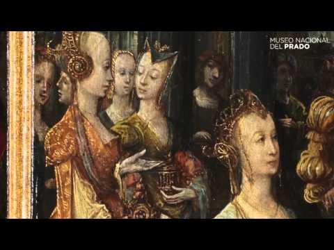 Obras comentadas: La Adoración de los Magos / El rey David recibe a los emisarios de las Doce Tribus / La reina de Saba ante Salomón, Pseudo-Blesius, (1515), por María López Villarejo