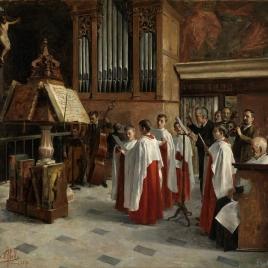 En el coro