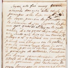 Inscripción sobre La jura del primer Príncipe de Asturias