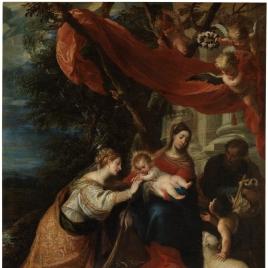 Los desposorios místicos de santa Catalina