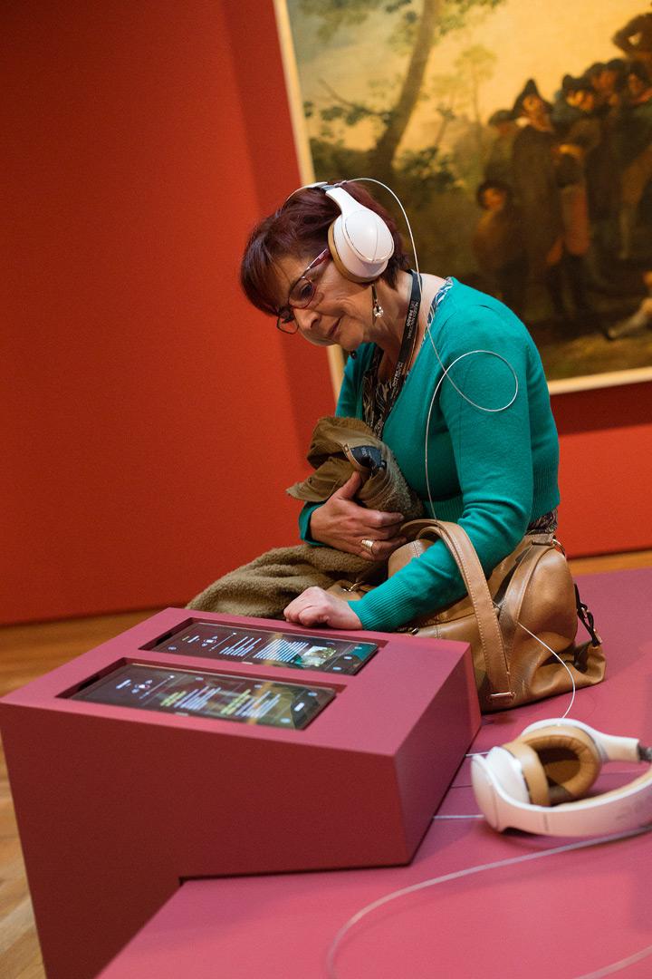 A qué suena Goya en Madrid