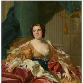 Louise-Élisabeth de Borbón, 'Madame Infante', esposa de Felipe de Borbón y Farnesio, duque de Parma