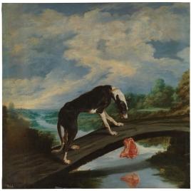 Fábula del perro y la presa
