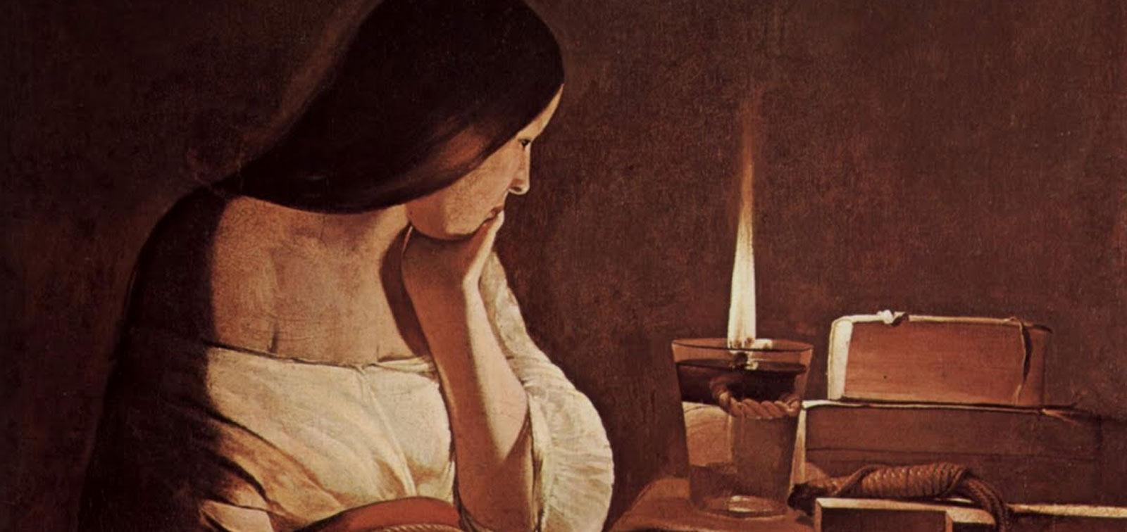 La obra invitada: La Magdalena penitente de Georges de La Tour