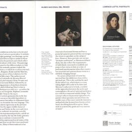 Lorenzo Lotto : retratos = portraits / Museo Nacional del Prado.