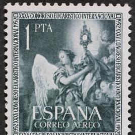 Serie de sellos XXXV Congreso Eucarístico de Barcelona