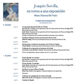 Joaquín Sorolla, en torno a una exposición [Recurso electrónico]: Museo Nacional del Prado : curso monográfico / Museo Nacional del Prado.
