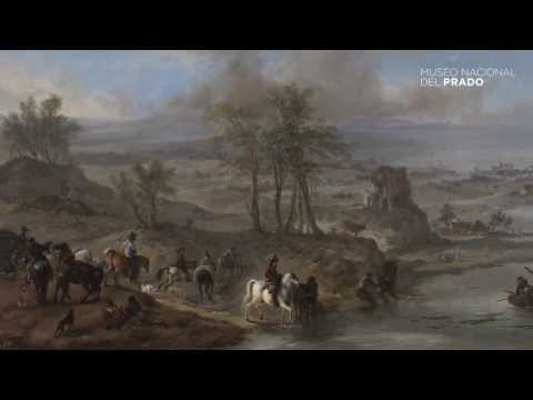Obras comentadas: Partida de caza y pescadores, Philips Wouwerman, (1660-1662), por Teresa Posada