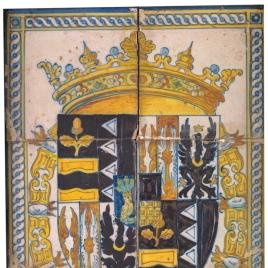 Escudo en cerámica de Talavera