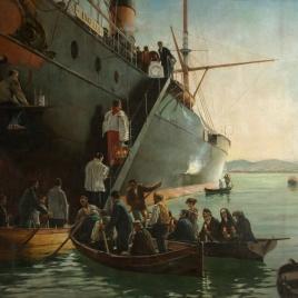 El viático a bordo