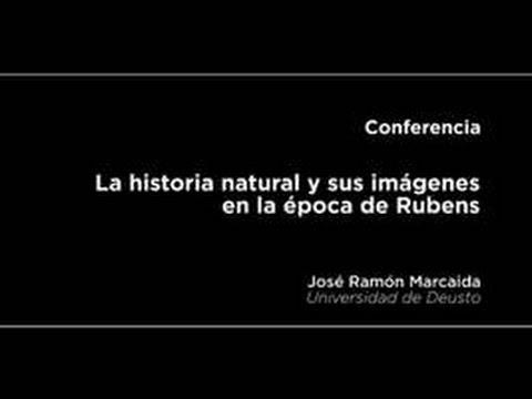 Conferencia: La historia natural y sus imágenes en la época de Rubens