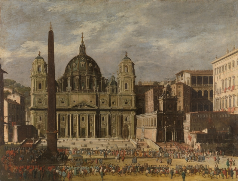 Exterior de San Pedro, Roma