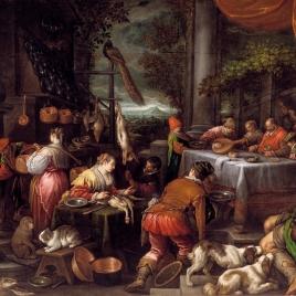 El rico Epulón y el pobre Lázaro