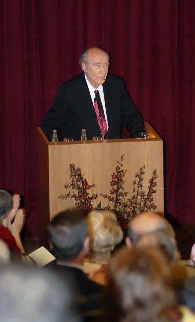 Fallecimiento de José Milicua, patrono del Museo Nacional del Prado