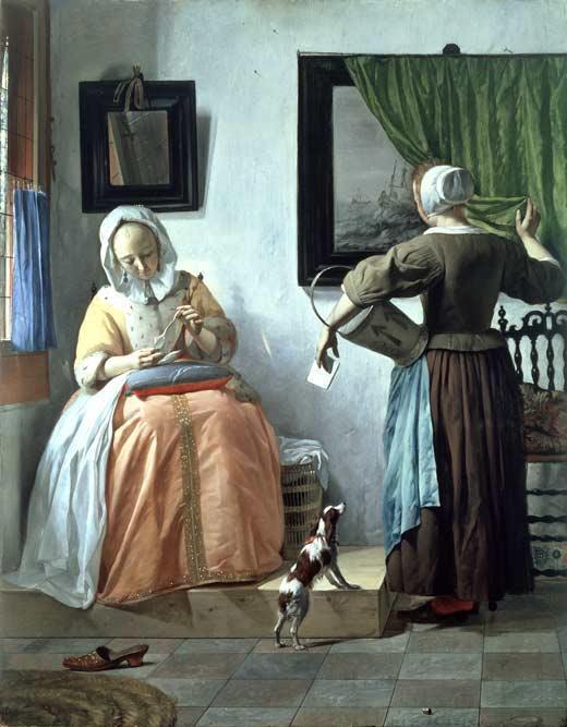 Los pintores y sus obras