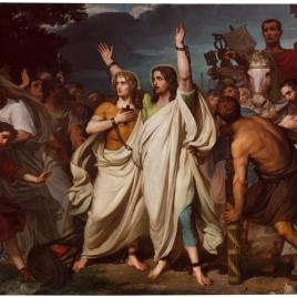 Martirio de los santos Servando y Germán