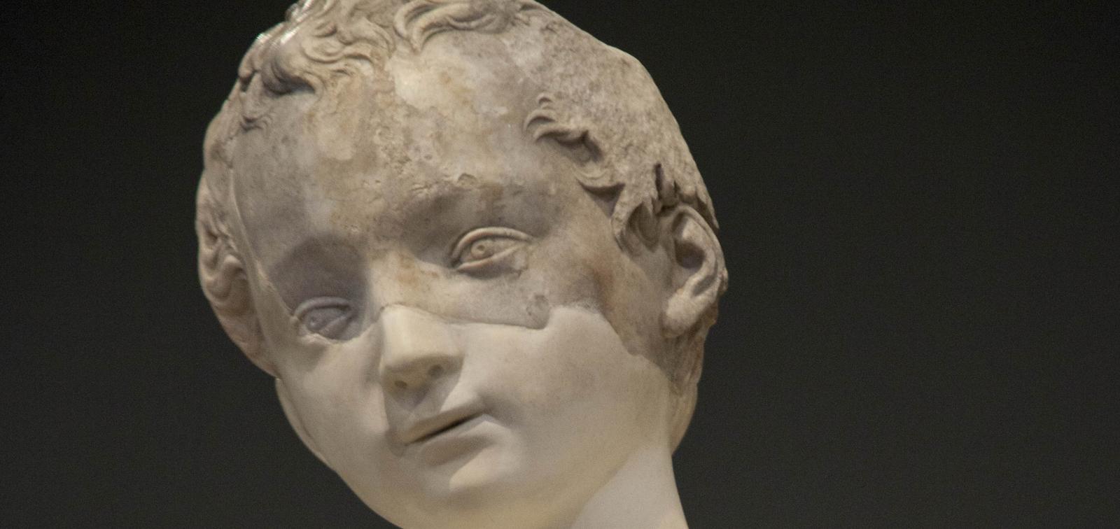 La obra invitada: El San Juanito recuperado. Una escultura de Miguel Ángel en España