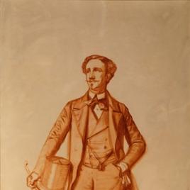 Retrato de caballero (esbozo)