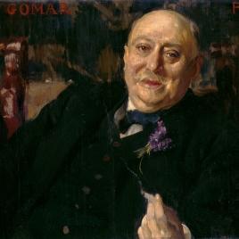 El pintor Antonio Gomar y Gomar