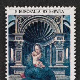 Serie de sellos Europalia 85. España
