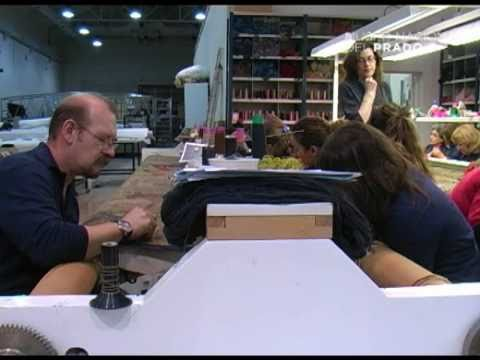 Conservación y restauración de la serie de tapices