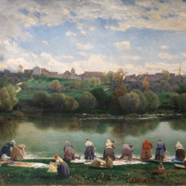 Washerwomen of La Varenne, France