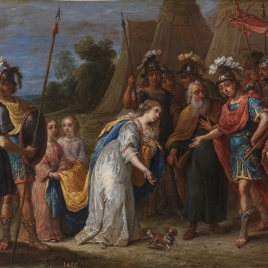 Armida ante Godofredo de Bouillon