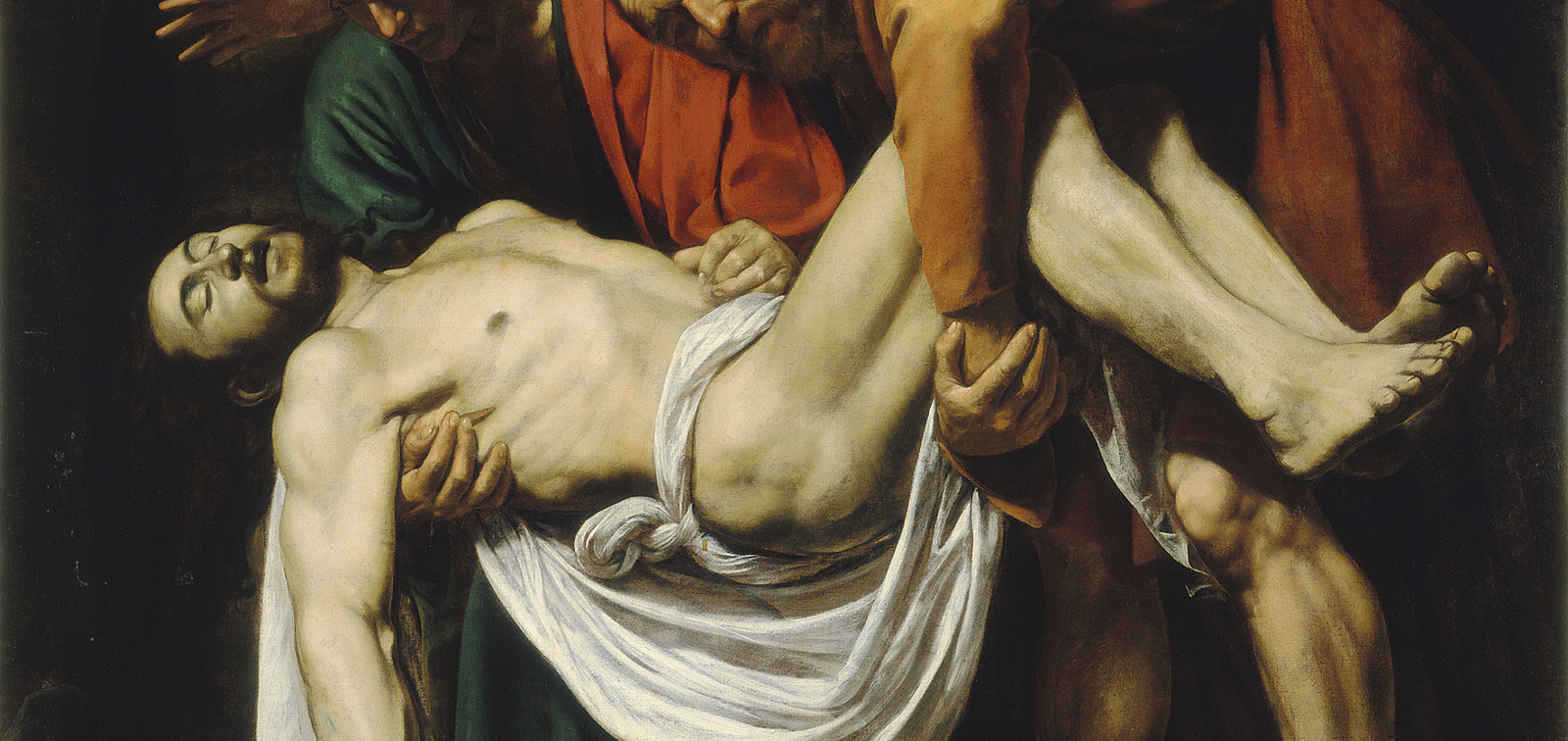 The invited work: The Entombment of Christ, Caravaggio