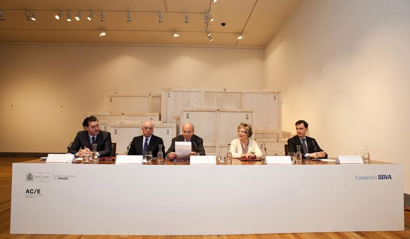 """Se inicia la cuenta atrás para la inauguración de la gran exposición """"El Hermitage en el Prado"""" coorganizada por AC/E y patrocinada por la Fundación BBVA"""