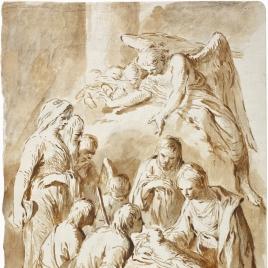 Adoración de los pastores / Ángel para una Anunciación
