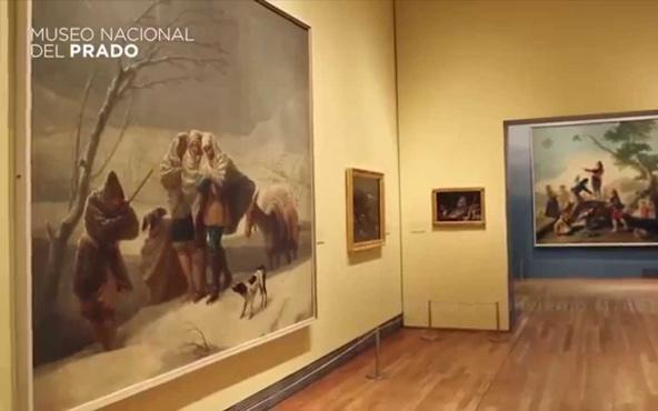 La exposición Goya en Madrid