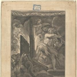 Hércules baja al Infierno para sacar a Alcestes
