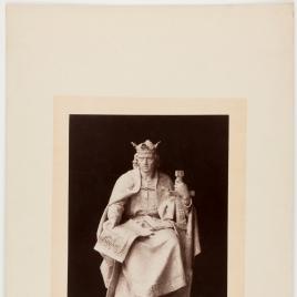 Modelo de estatua a Alfonso X el Sabio