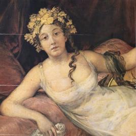Goya [Material gráfico] : retrato de la Marquesa de Santa Cruz / Museo Nacional del Prado.