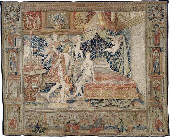 El ciclo de Mercurio y Herse. Una tapicería de oro