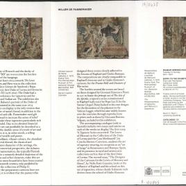 Los amores de Mercurio y Herse : una tapicería rica de Willem de Pannemaker = The Loves of Mercury and Herse : a Tapestry Series by Willem de Pannemaker / Museo Nacional del Prado.