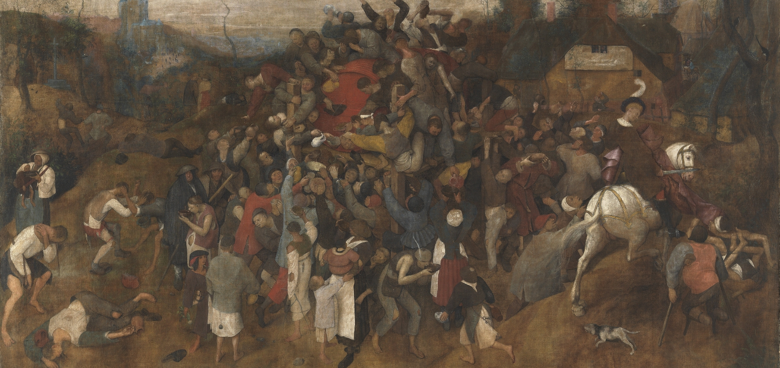 Special display: The Wine of Saint Martin's Day by Bruegel the Elder